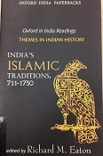 India's Islamic Traditions, 711-1750